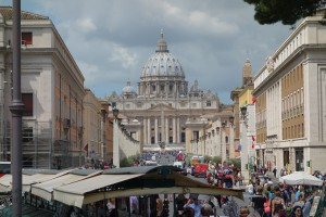 The Vatican, which is in our assigned area