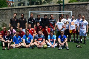 Zone Soccer, 5/11/15, Rome.  Photo courtesy of Anziano Parker Scott's blog.