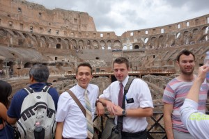 Colloseum with Elder Rasband