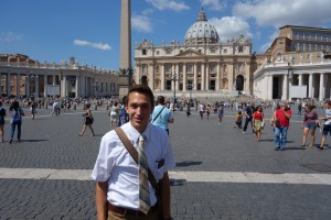 Me at St. Peter's Basilica
