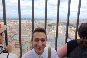 Me on top of St. Peter's Basilica