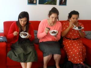Roma 1 sorelle like their gelato and cupcakes.
