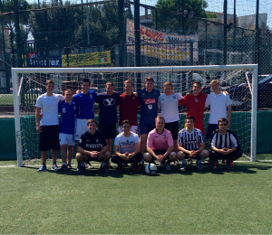 Combined zone soccer (Rome East and Rome West), August, 2015