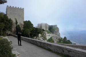 Anziano Spencer at Erice, Sicily