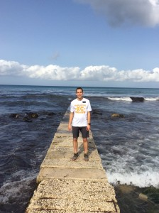 On the beach at Tràpani, Sicily