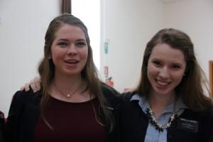Sorella Carver and Sorella Pinnegar, our fellow Cosenza missionaries.