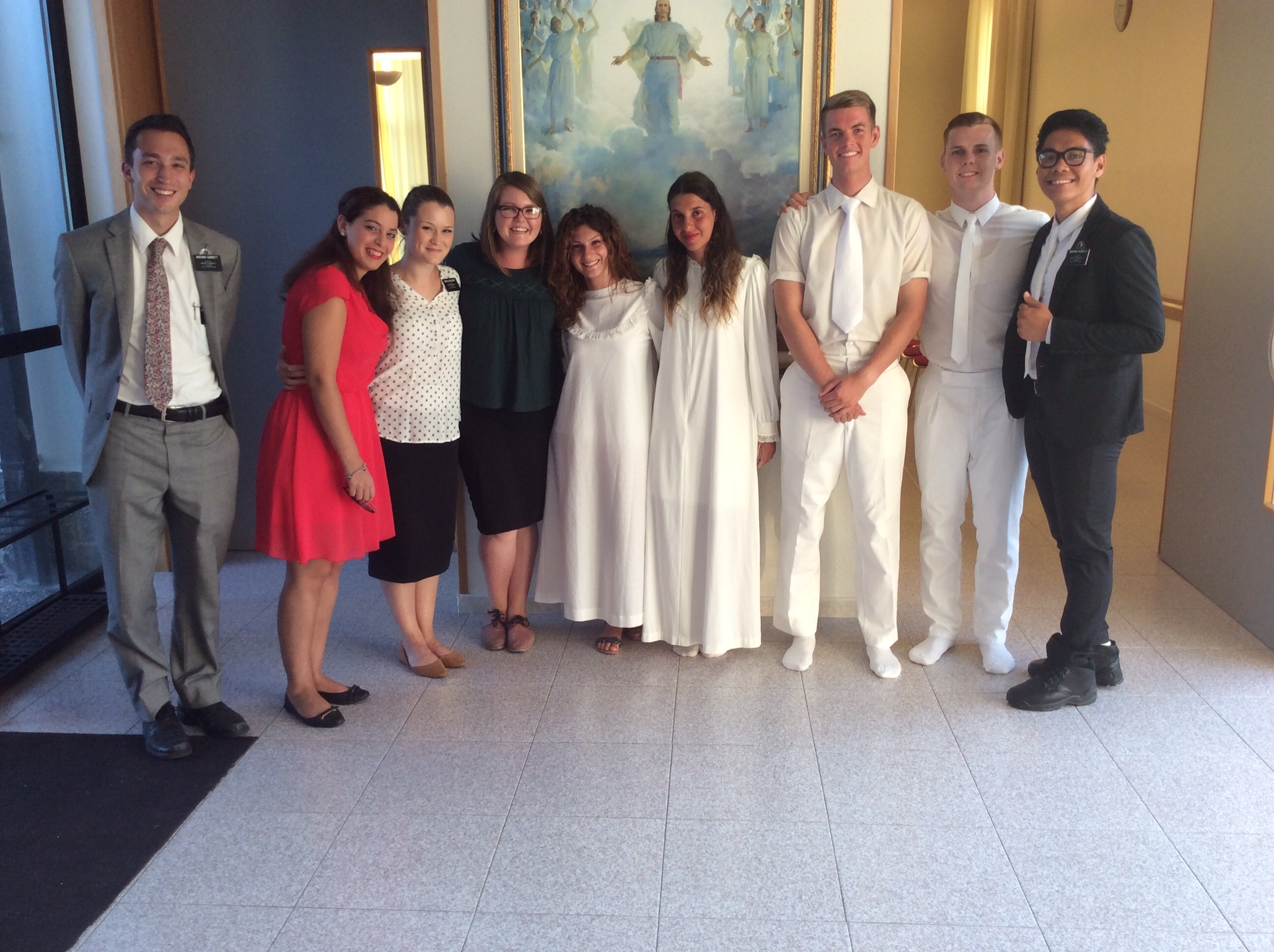 Catania District baptism