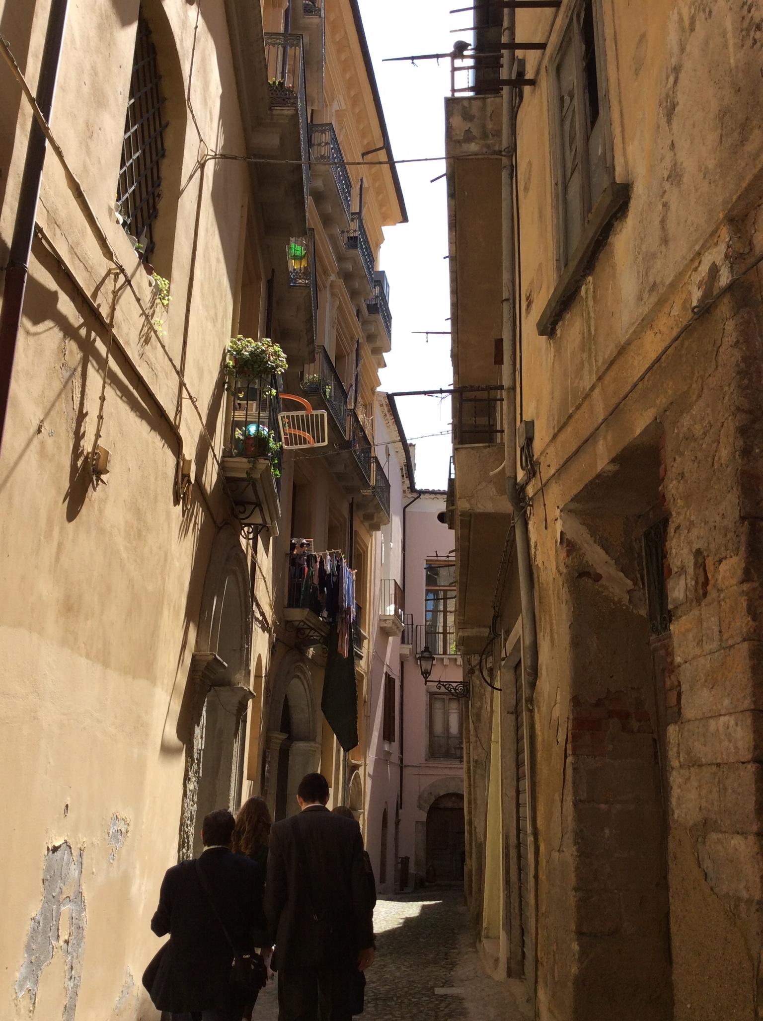 Street in Cosenza