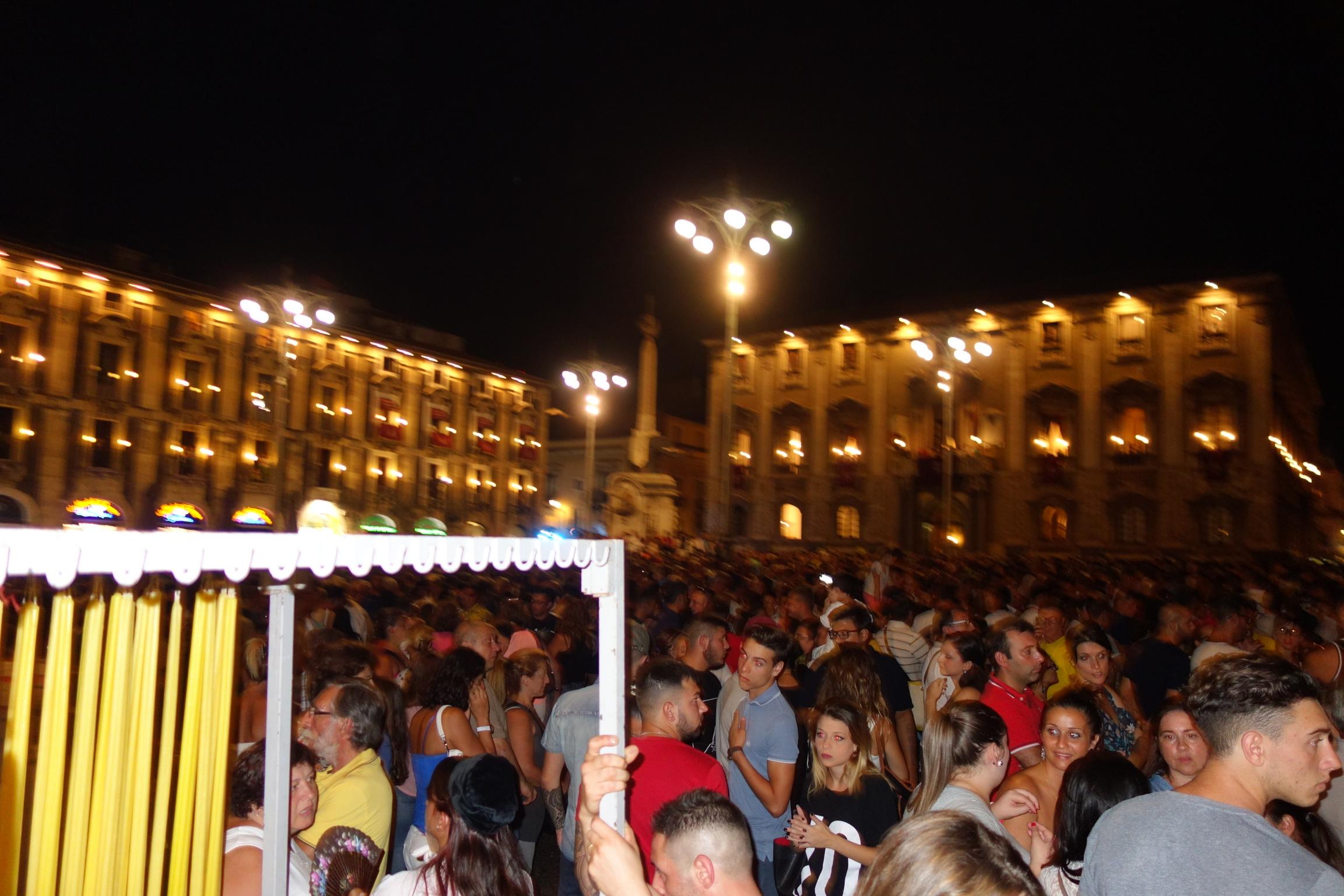 Catania at night