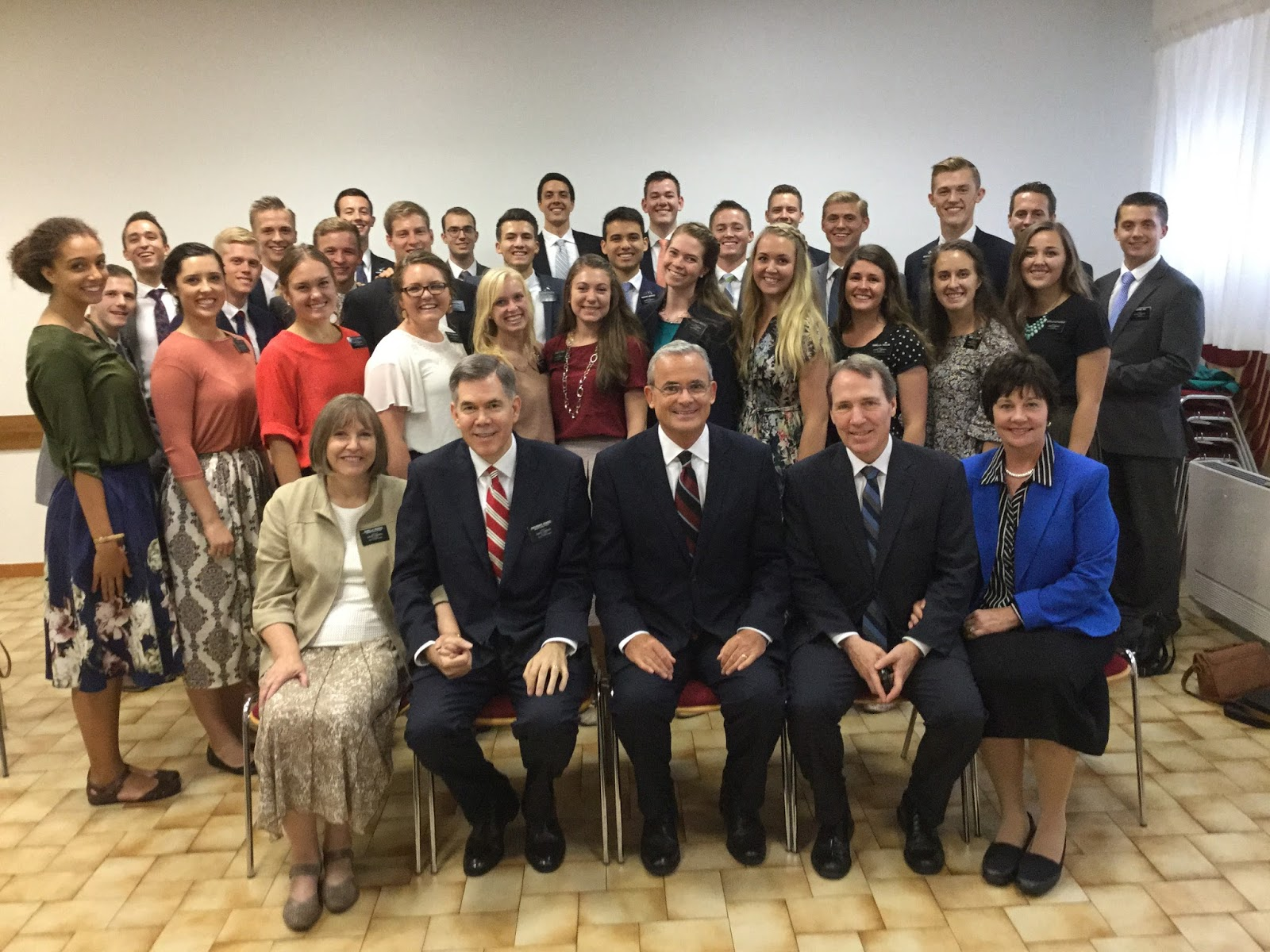 Mission leadership conference in Rome, September, 2016