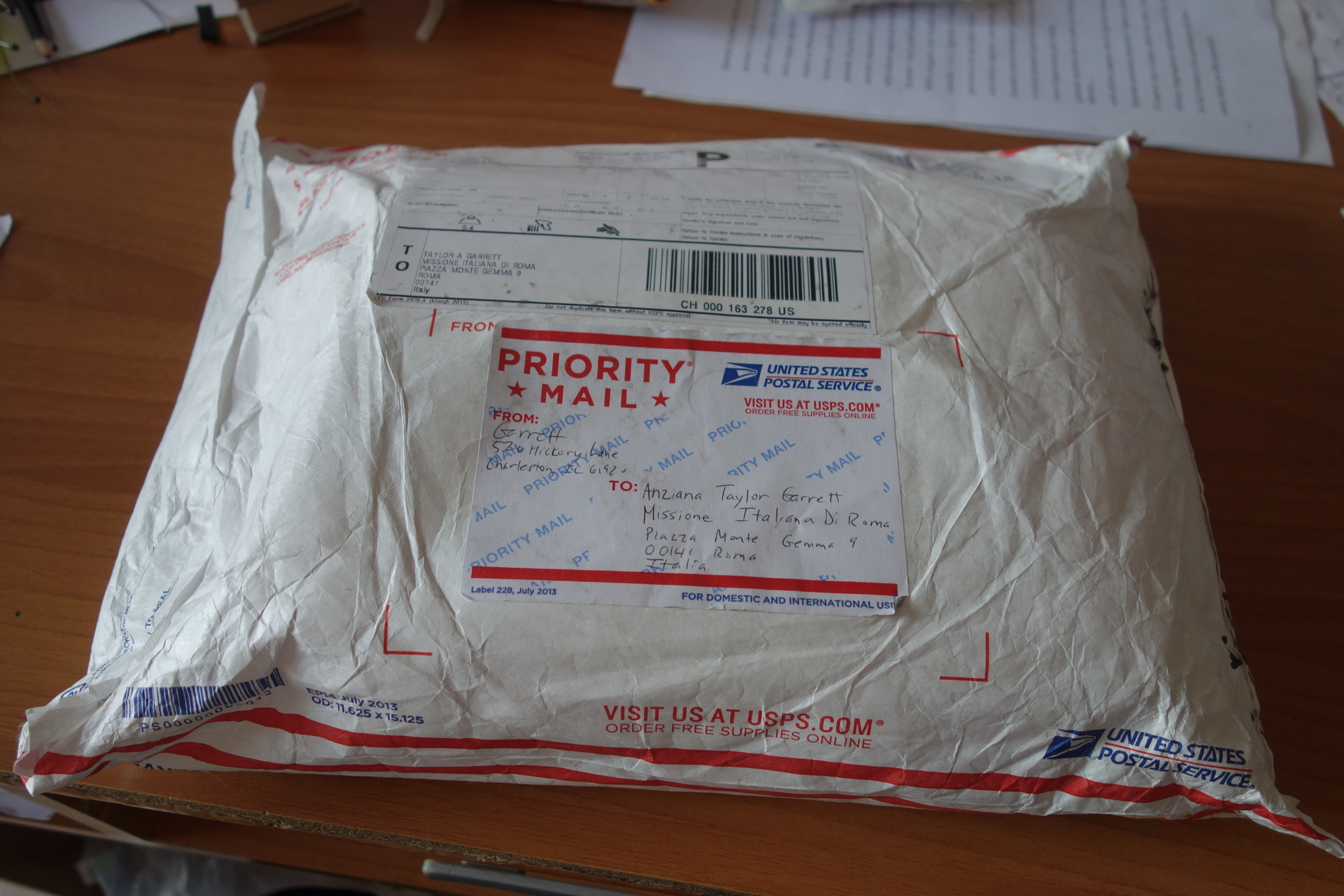 The birthday package