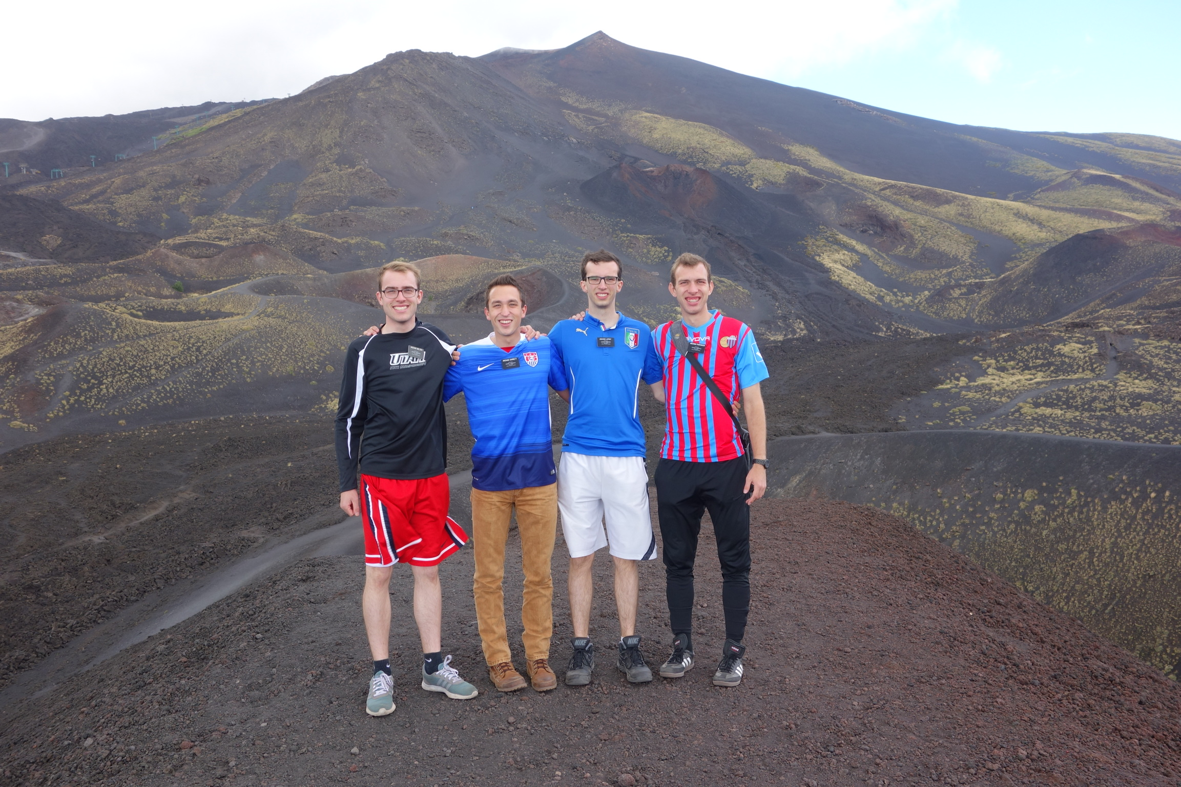 On Mt. Etna
