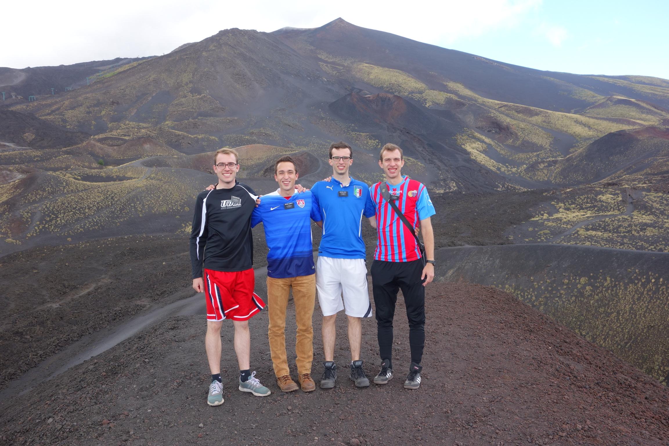 On Mt. Etna