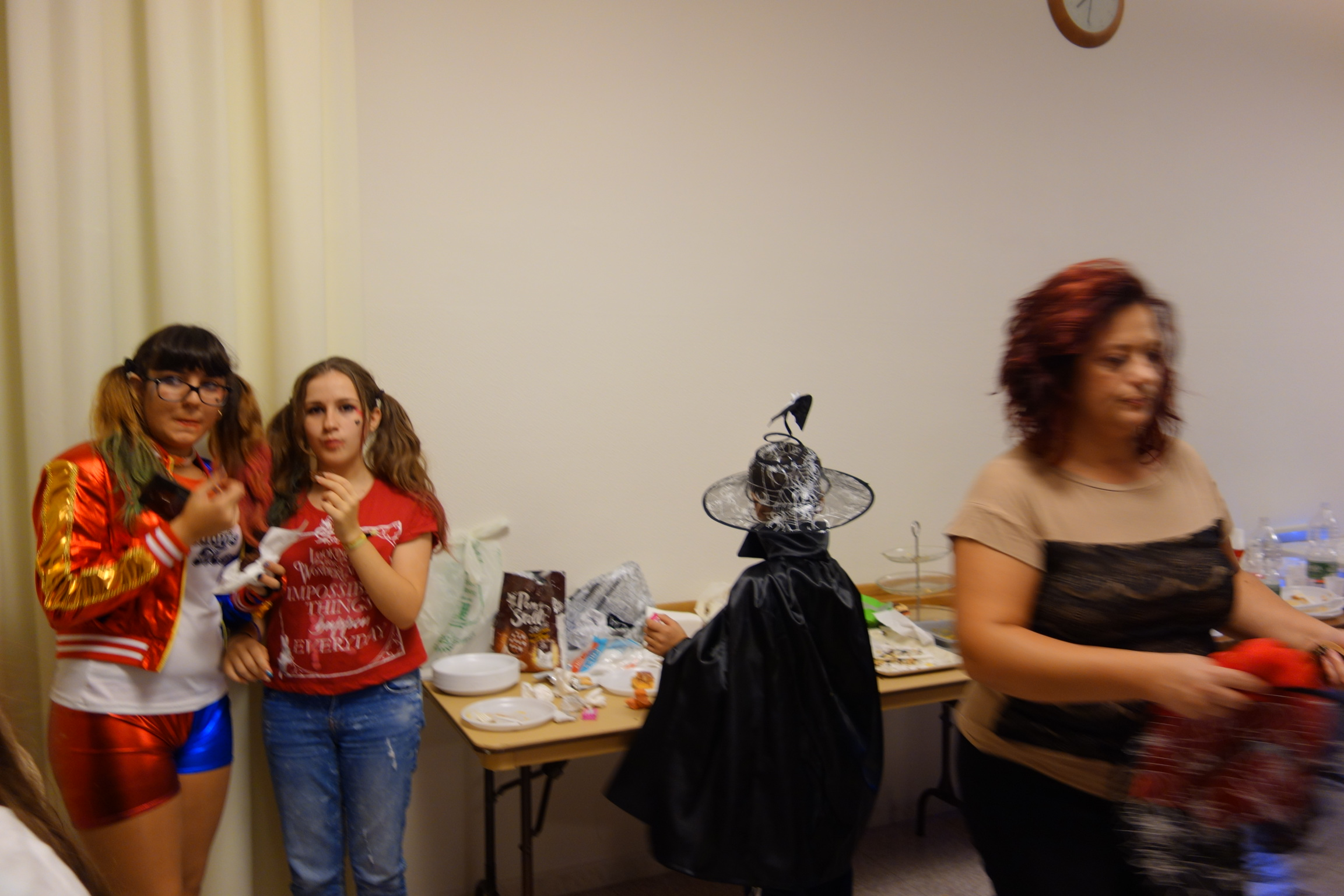 Catania Ward Halloween Party, October, 2016